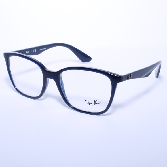127346bc45 Ray Ban RB7066 5584 Dark Deep Blue Eyeglasses. M 5a3578a61dffdac5f3017a10.  Other Accessories ...